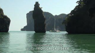 Catamaran Cruise - Thaïland Andaman Sea Phuket - www.tropicalcruise.fr