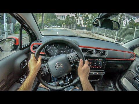 Citroen C3 III   4K POV Test Drive #279 Joe Black