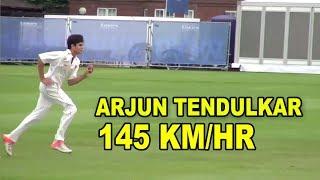 Arjun Tendulkar bowls at Lord's 2015 Vs practice in Mumbai 2013