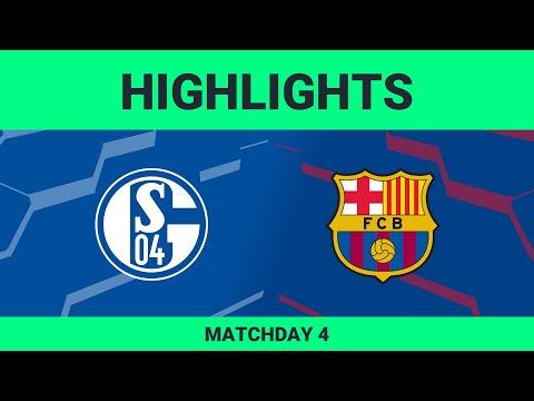 FC Schalke 04 vs FC Barcelona | Highlights Matchday 4 eFootball.Pro 2019-2020