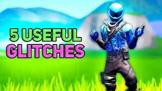 5 useful fortnite glitches... (Season 10)