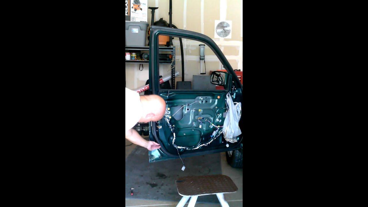 2000 Honda Crv Door Lock Actuator Part 2 Youtube