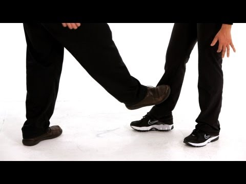 How to Do a Shin Kick   Self-Defense