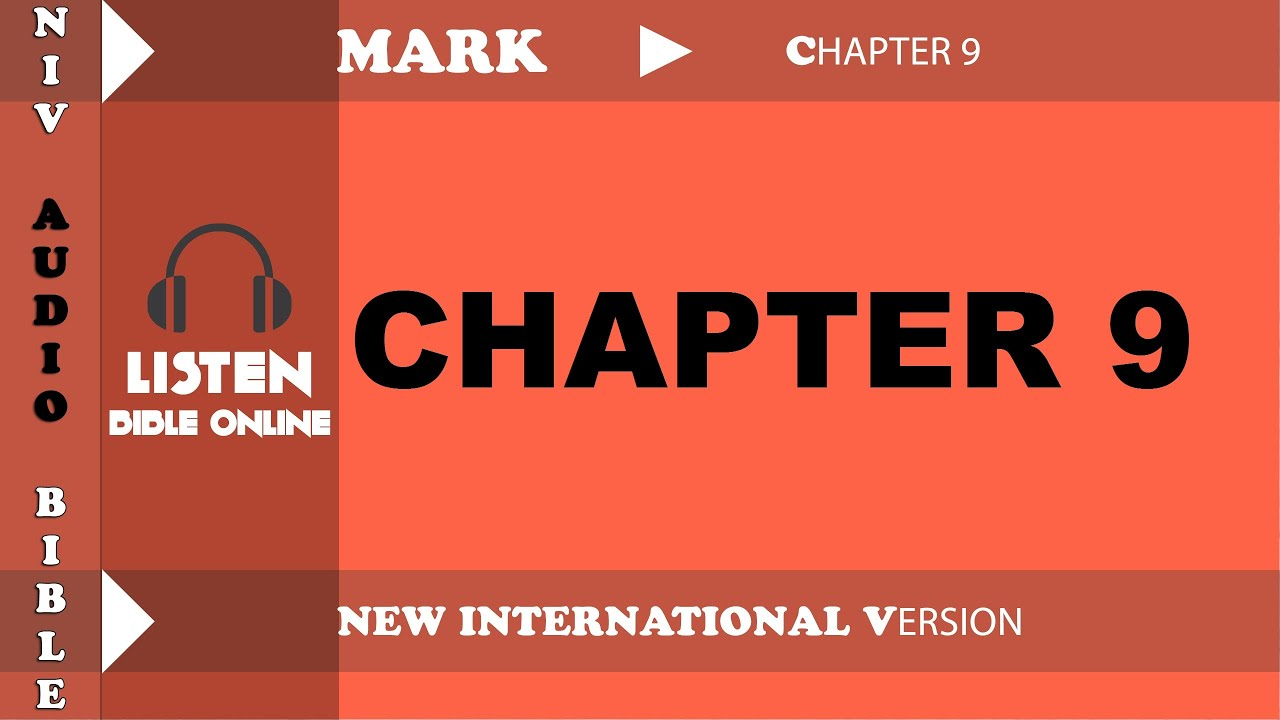 Holy Bible Audio NIV : MARK Chapter 9 With English Subtitle (New  International Version )