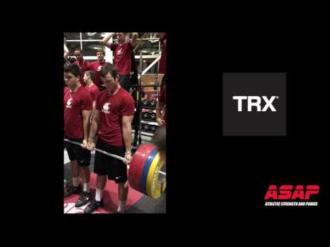 PARTNER-PROGRESSIVE BARBELL HOLD Washington State Baseball