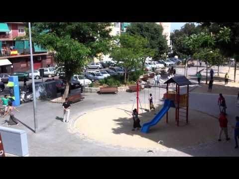 Batalla campal en Badalona 10/06/2012