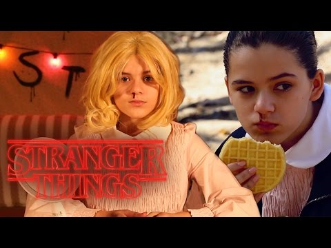 STRANGER THINGS ELEVEN, LAST MINUTE HALLOWEEN COSTUME & MAKEUP TUORIAL    |  KITTIESMAMA