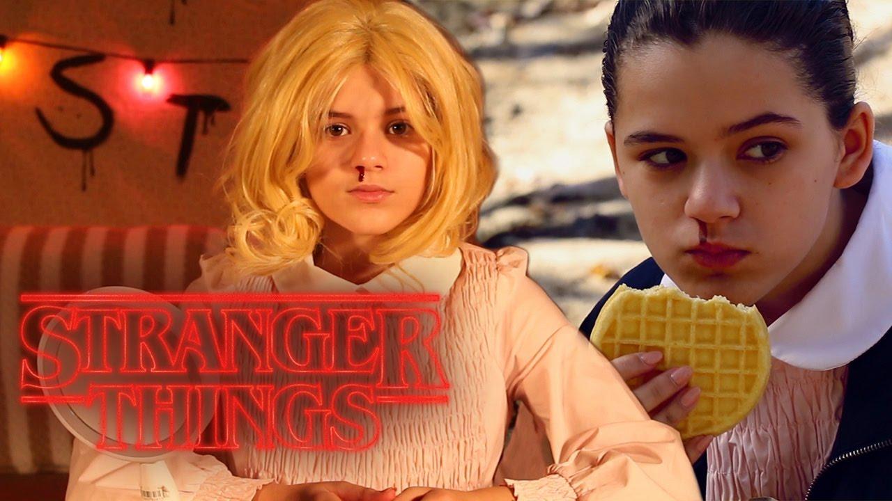 STRANGER THINGS ELEVEN, LAST MINUTE HALLOWEEN COSTUME! | KITTIESMAMA - YouTube