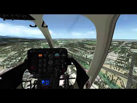 X-Plane 10 - Dreamfoil Bell 407 Demo - Vancouver to Abbotsford