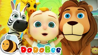 Lets Go to the Zoo  Learn Animals for Kids + More Nursery Rhymes  Kids Songs - DoDoBee