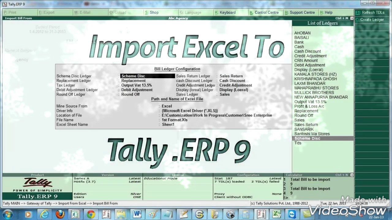 How to export tally data in excel sheet format gst version tally how to export tally data in excel sheet format gst version tally erp 9 hindi 2018 alramifo Choice Image