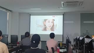 [쇼셜미디어 프로젝트]수업하는 학생들에게 유투브 크리에이터 재림님 초청해서 특강을 진행 했습니다.