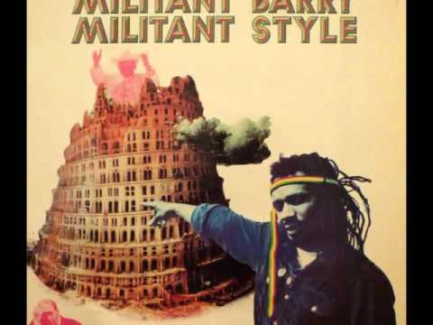 Militant Barry - Rasta Connection Records - 1980
