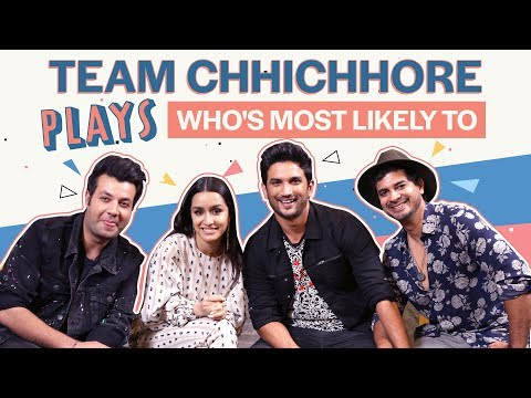 Shraddha Kapoor and Sushant Singh Rajput reveal who's most likely to cheat in love | Chhichhore Mp3