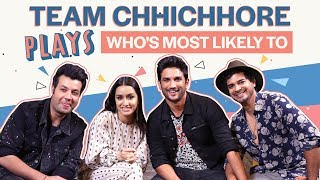 Shraddha Kapoor and Sushant Singh Rajput reveal who's most likely to cheat in love   Chhichhore