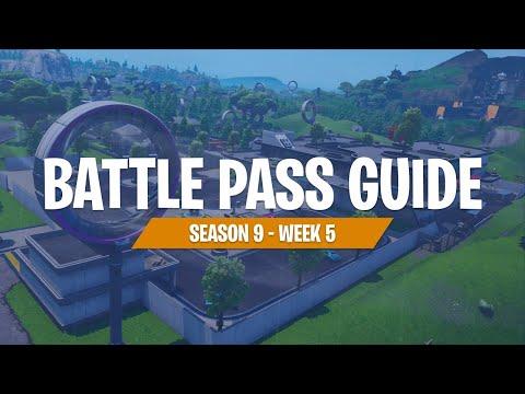 Completing Week 5 Challenges (Fortnite Battle Royale)