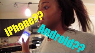 Vlogmas Day 5 | iPhone or Android??? - Ify Yvonne