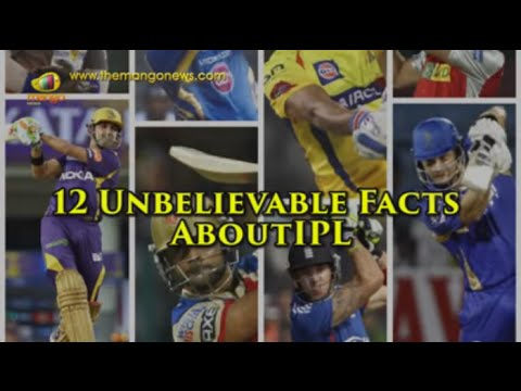 12 Unbelievable Facts About IPL Which Will Blow Your Mind | Mango News