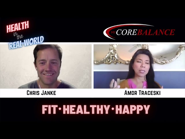 Positive Mindset to Overcome Hardship - Health in the Real World with Chris Janke and Amor Traceski