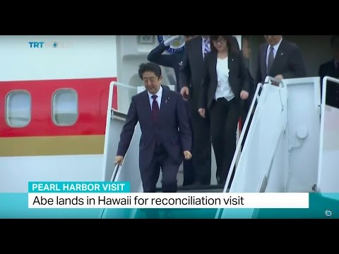 Pearl Harbor Visit: Japanese PM Abe lands in Hawaii for reconciliation visit