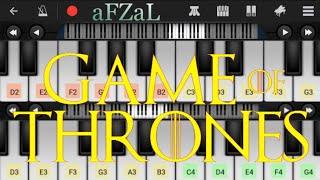Game of Thrones in piano || Саундтрек фильма Игра Пристолов на пианино