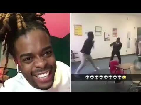 Mr. Johnson Fight Reaction | Gotdamnzo