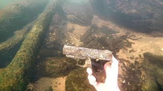 One of DALLMYD's most viewed videos: Found Possible Murder Weapon Underwater in River! (Police Called) | DALLMYD