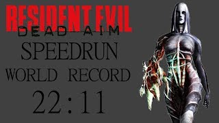 [WR] Resident Evil: Dead Aim Speedrun 22:11