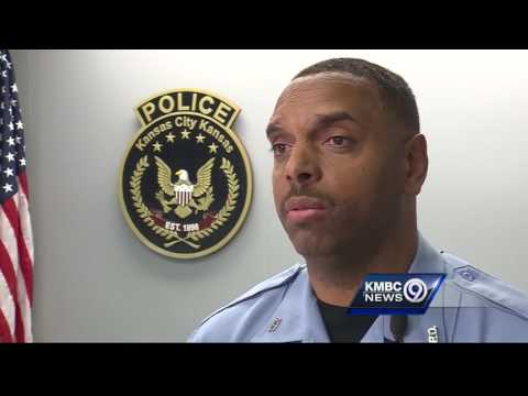 Body cam video shows scary encounter between suspect and Kansas City, Kansas Police