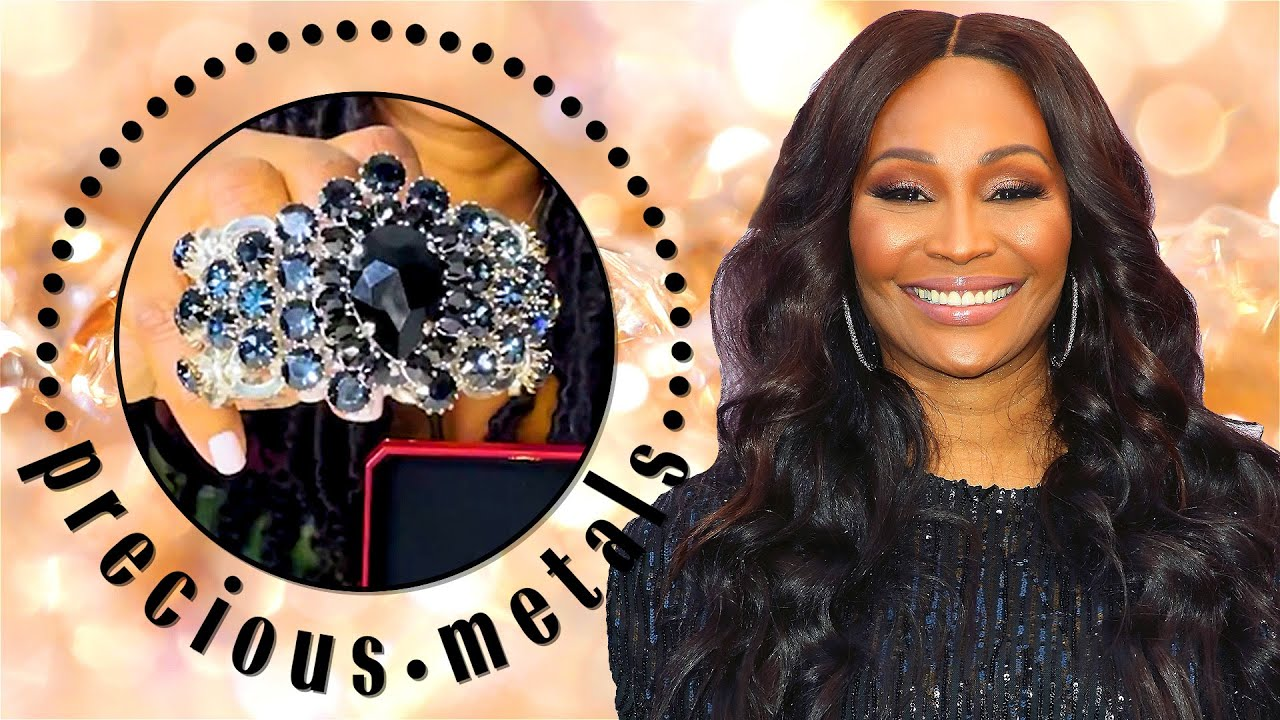Cynthia Bailey Shows Off Her Stunning Jewelry Collection | Precious Metals | Marie Claire