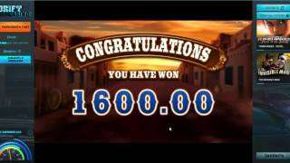 Drift Сasino: больше 4000 монет в PISTOLERAS!