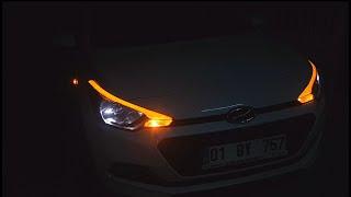 Hyundai i20 Jump Led Uygulaması Nasıl Yapılır // How To Make Hyundai i20 Led Design