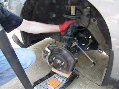 Week 17: Install a Set of Front Springs to a Nissan Versa