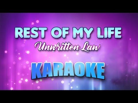 Unwritten Law - Rest Of My Life (Karaoke version with Lyrics)