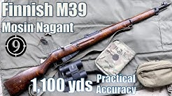 🏅Finnish M39 Mosin Nagant to 1,100yds: Practical Accuracy