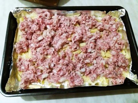 Рецепт из фарша.Люля кебаб.