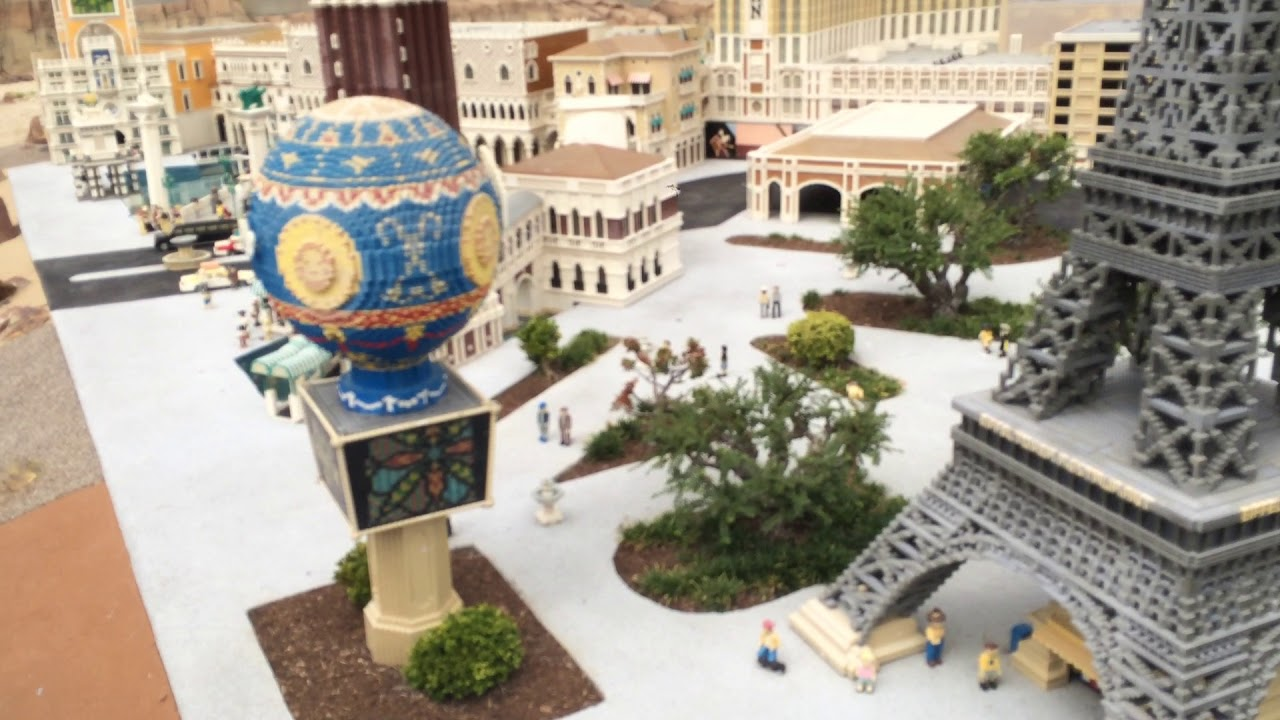 Legoland California Miniland Las Vegas Youtube