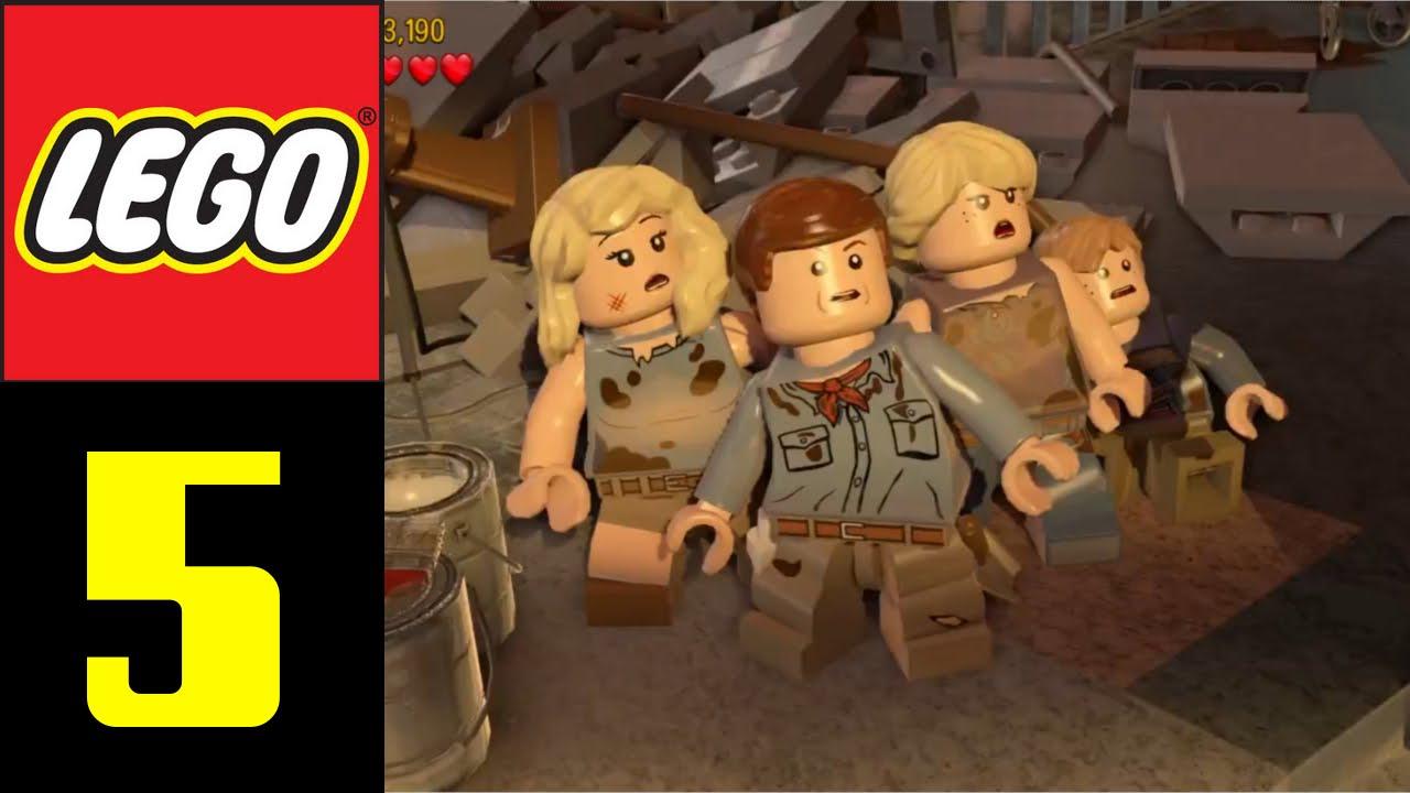 ジュラシック ワールド 攻略 レゴ