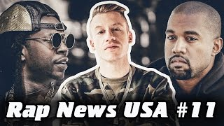 RapNews USA #11 [Kanye West, 2 Сhainz, Macklemore]