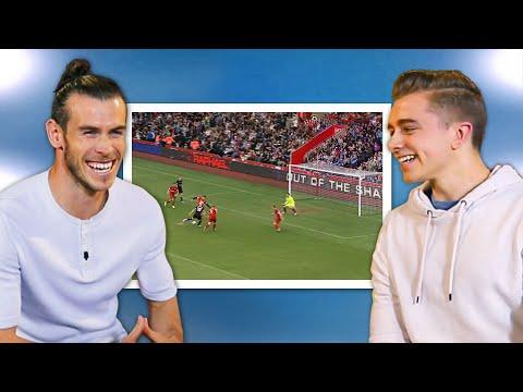 Gareth Bale Reacts to the Best Sidemen Match Goals