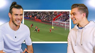 Gareth Bale Reacts to Best Goals in Sidemen Football Matches