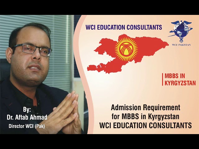 Admission requirements for MBBS in Kyrgyzstan
