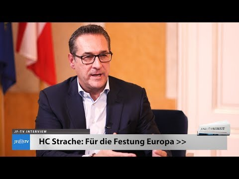 """HC Strache: """"Eine Festung Europa wird notwendig sein"""" (JF-TV Interview)"""
