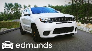 2018 Jeep Grand Cherokee Trackhawk Review | Test Drive | Edmunds