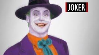 Jack Nicholson (Joker) - Szybkie Malowanie #6 [Kocham Rysować]