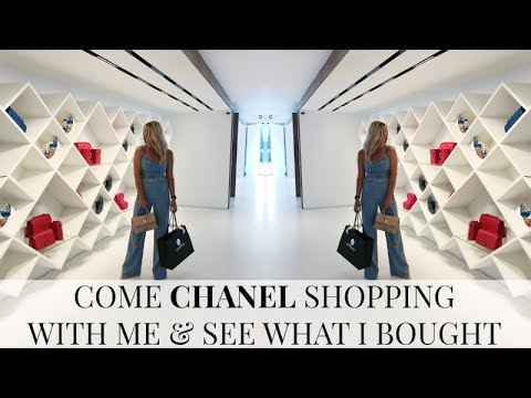 COME CHANEL SHOPPING WITH ME & TO A CHANEL EVENT | CHANEL REVEAL | IAM CHOUQUETTE