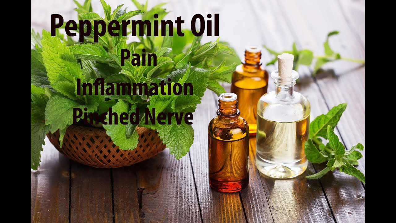 Peppermint Essential Oil For Pain Relief  Muscle Spasm