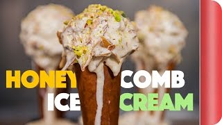 Mind Blowing Honeycomb Ice Cream