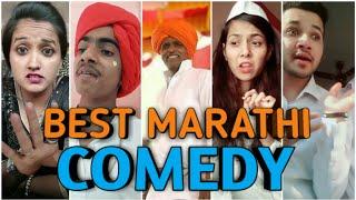 marathi musically video comedy  Marathi comedy tik tok video  indurikar maharaj Dubbing   
