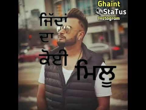 New song Adha pind - gurj sidhu